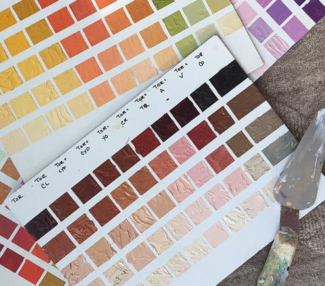Color Mixing Workshops - Diane McFerrin